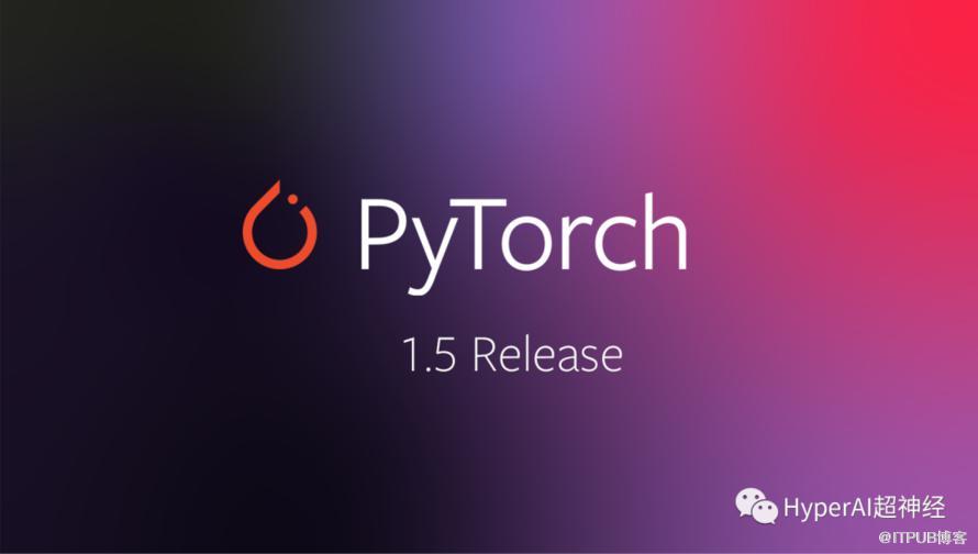 PyTorch 1.5 发布,与 AWS 合作 TorchServe